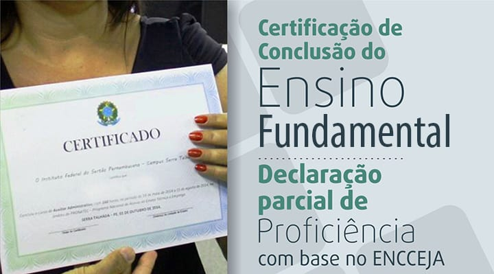 Requisitos para pedir o Certificado Encceja 2021