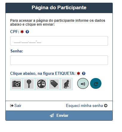 Como Acessar a Página do Participante